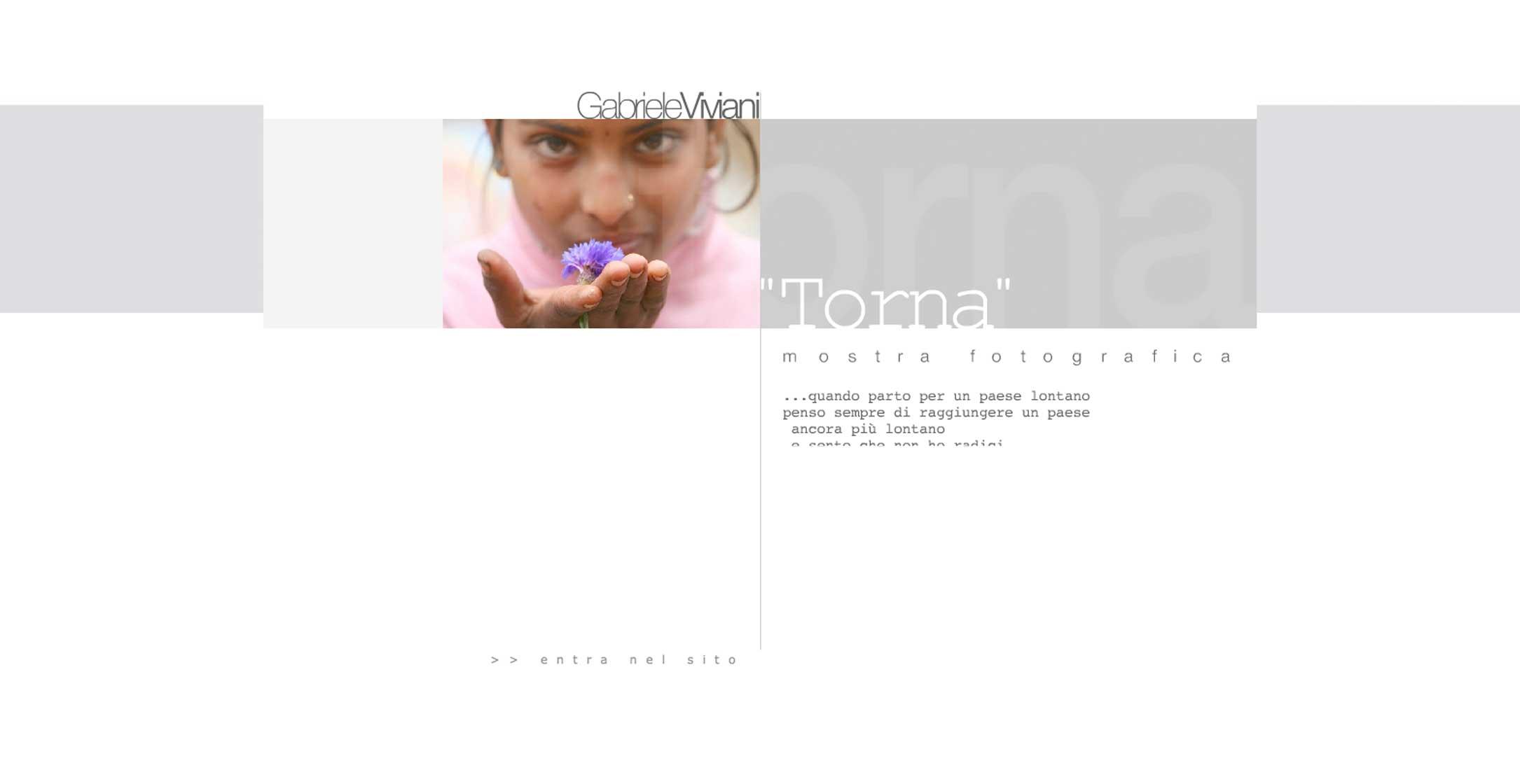 'TORNA' di Gabriele Viviani